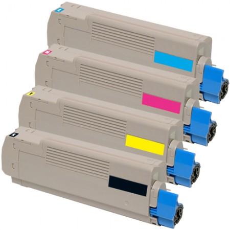 Komplet tonerjev za OKI C5700 in OKI C5600 (CMYK)