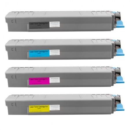Komplet tonerjev OKI C810 in OKI C830 - 8000 strani