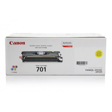 Toner Canon CRG-701 Yellow / Original