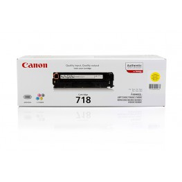 Toner Canon CRG-718 Yellow / Original
