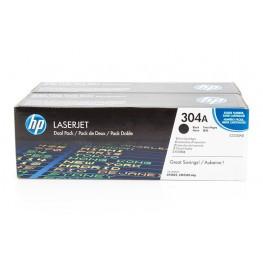 Toner HP CC530AD Black / 304A / Dvojno pakiranje / Original