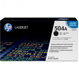 Toner HP CE250A Black / 504A / Original