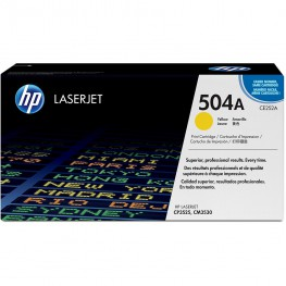 Toner HP CE252A Yellow / 504A / Original
