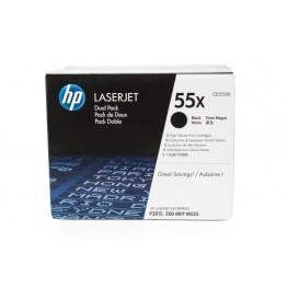 Toner HP CE255XD 55X Black / Dvojno pakiranje / Original