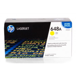Toner HP CE262A / 648A Yellow / Original