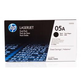 Toner HP CE505D 05A Black / Dvojno pakiranje / Original