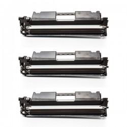 Toner HP CF217A 17A Black / Trojno pakiranje