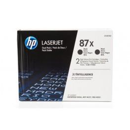 Toner HP CF287XD 87X Black / Dvojno pakiranje / Original
