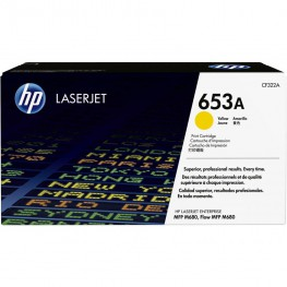Toner HP CF322A Yellow / 653A / Original