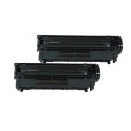 Toner HP Q2612AD 12A Black / Dvojno pakiranje / 2x 3500 strani XL