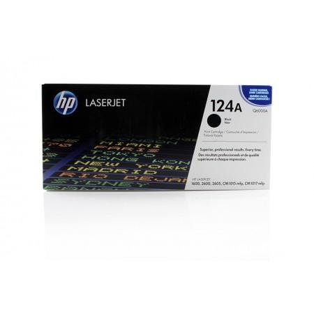 Toner HP Q6000A Black / 124A / Original