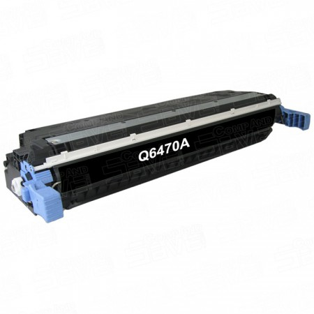 Toner HP Q6470A Black / 501A