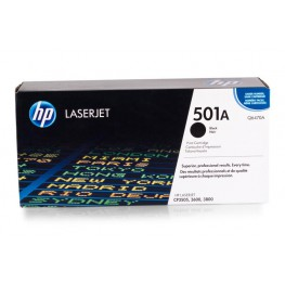 Toner HP Q6470A Black / 501A / Original