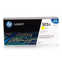 Toner HP Q6472A Yellow / 502A / Original