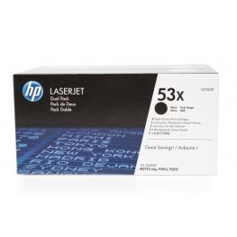 Toner HP Q7553XD 53X Black / Dvojno pakiranje / Original