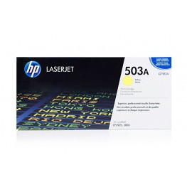 Toner HP Q7582A Yellow / 503A / Original
