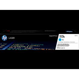 Toner HP W2071A 117A Cyan / Original