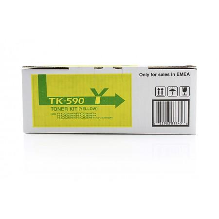Toner Kyocera TK-590 Yellow / Original