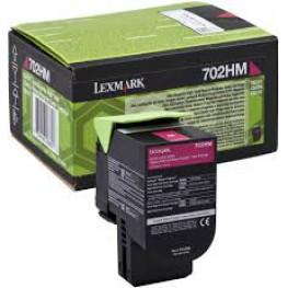 Toner Lexmark 70C2HM0 / 702HM Magenta / Original