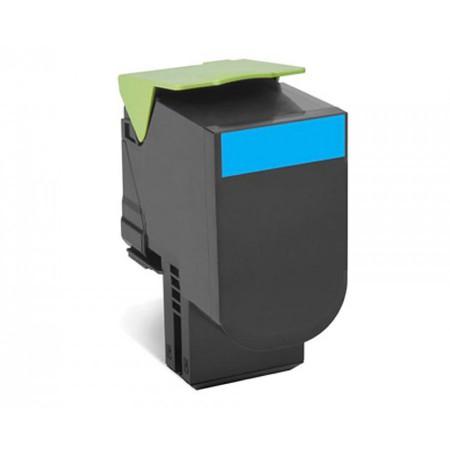 Toner Lexmark 80C2SC0 / 802SC Cyan