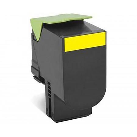 Toner Lexmark 80C2SY0 / 802SY Yellow