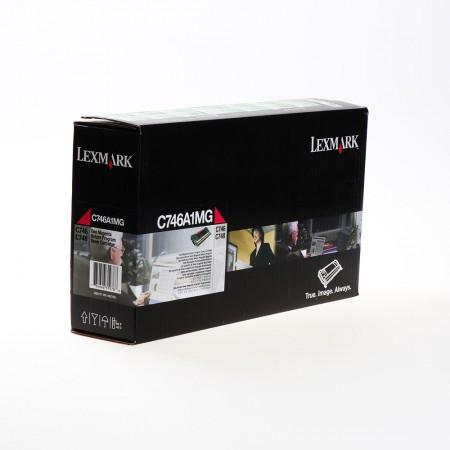 Toner Lexmark C746A1MG Magenta / Original