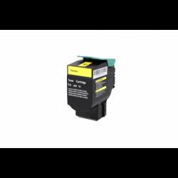 Toner Lexmark C540H1YG Yellow