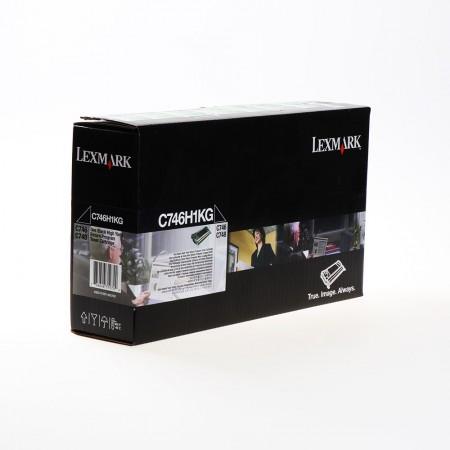 Toner Lexmark C746H1KG Black / Original