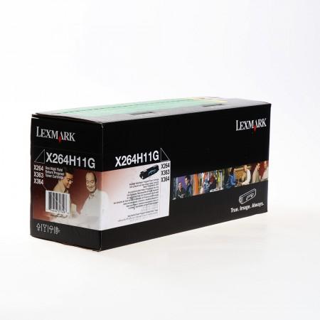 Toner Lexmark X264H11G Black / Original
