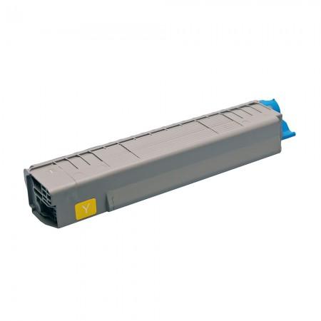 Toner OKI 43487709 Yellow (C8600 / C8800)