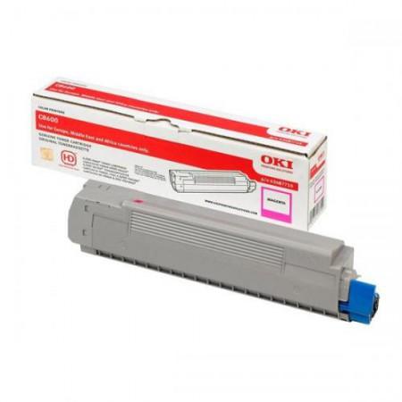 Toner OKI 43487710 Magenta (C8600 / C8800) / Original