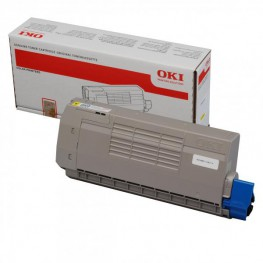 Toner OKI 44318605 Yellow (C710, C711) / Original