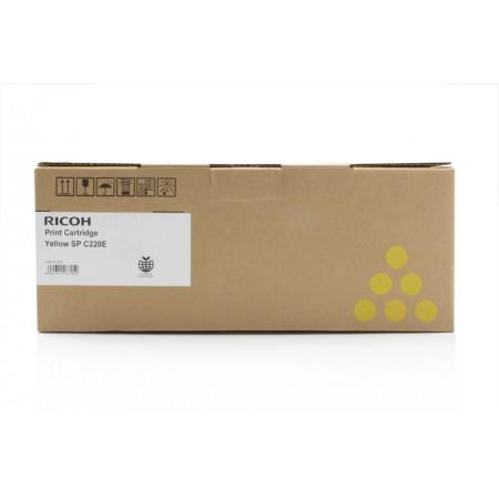 Toner Ricoh 407643 / SP C220 Yellow / Original