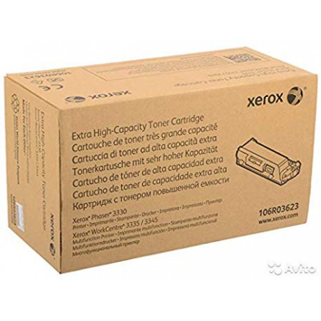 Toner Xerox 106R03623 Black (XP 3330 / WC 3335 / WC 3345) / Original