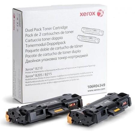 Toner Xerox 106R04349 Black (B205 / B210 / B215) / Dvojno pakiranje / Original